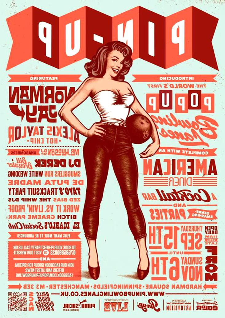 affiches pin up d'occasion