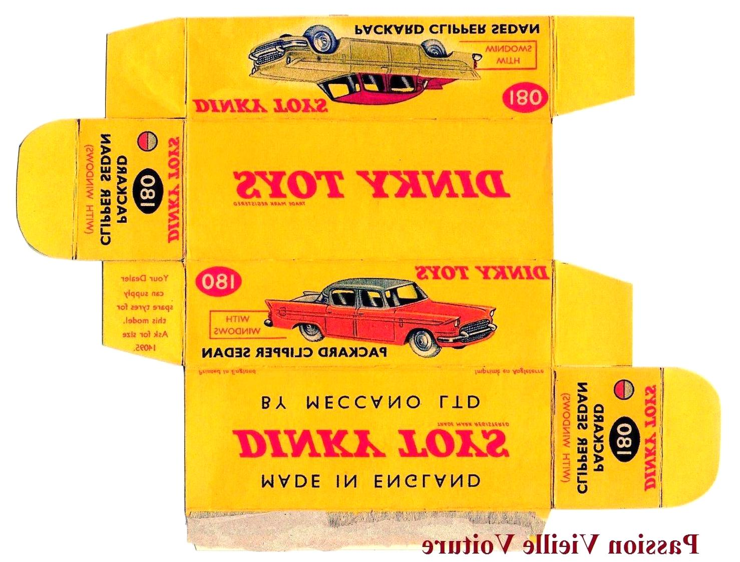 boite dinky toys d'occasion