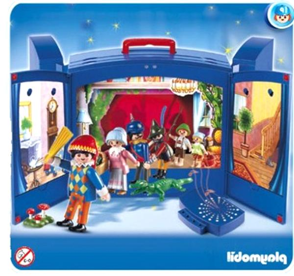 playmobil theatre d'occasion