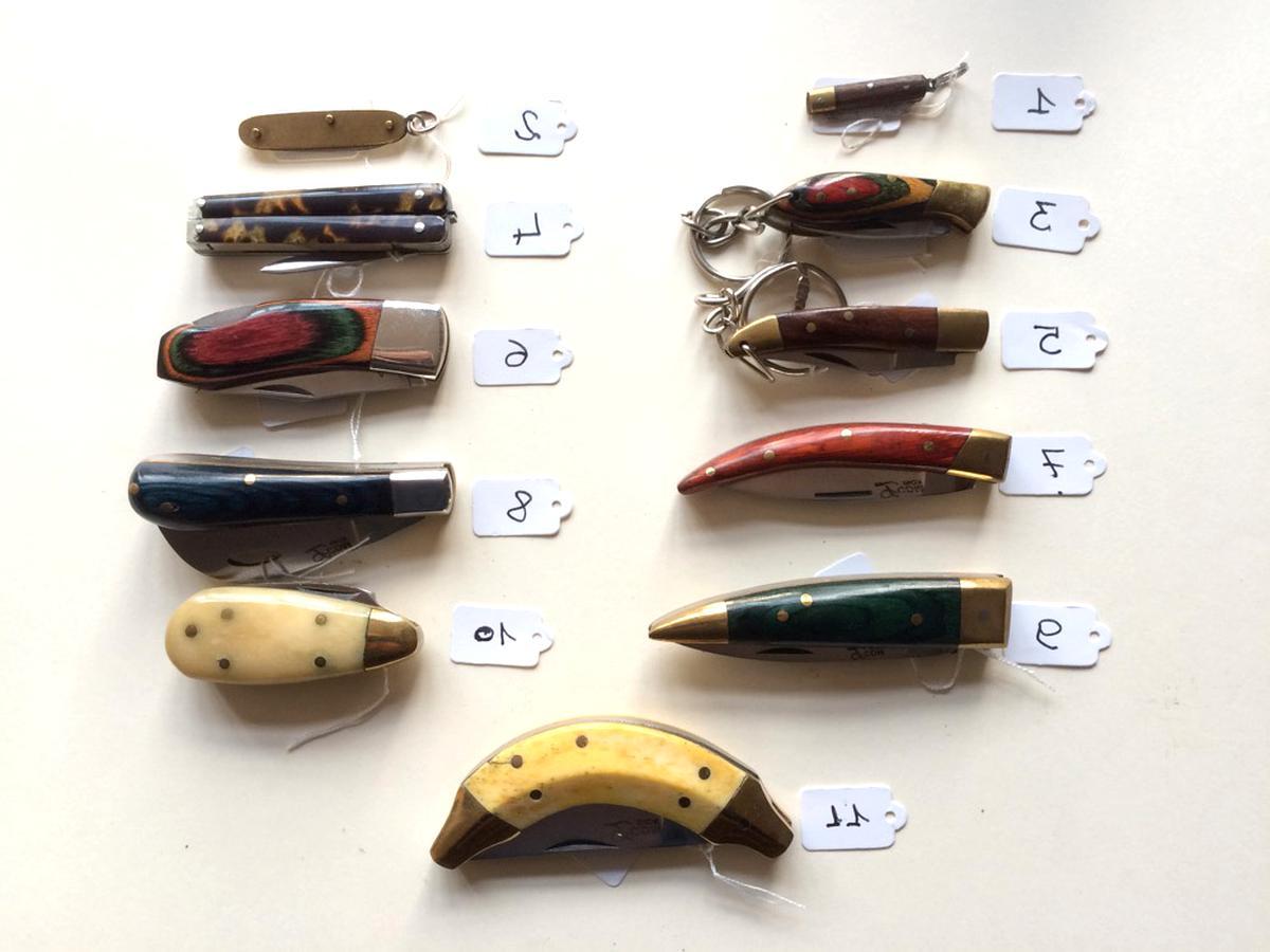 couteaux miniature d'occasion
