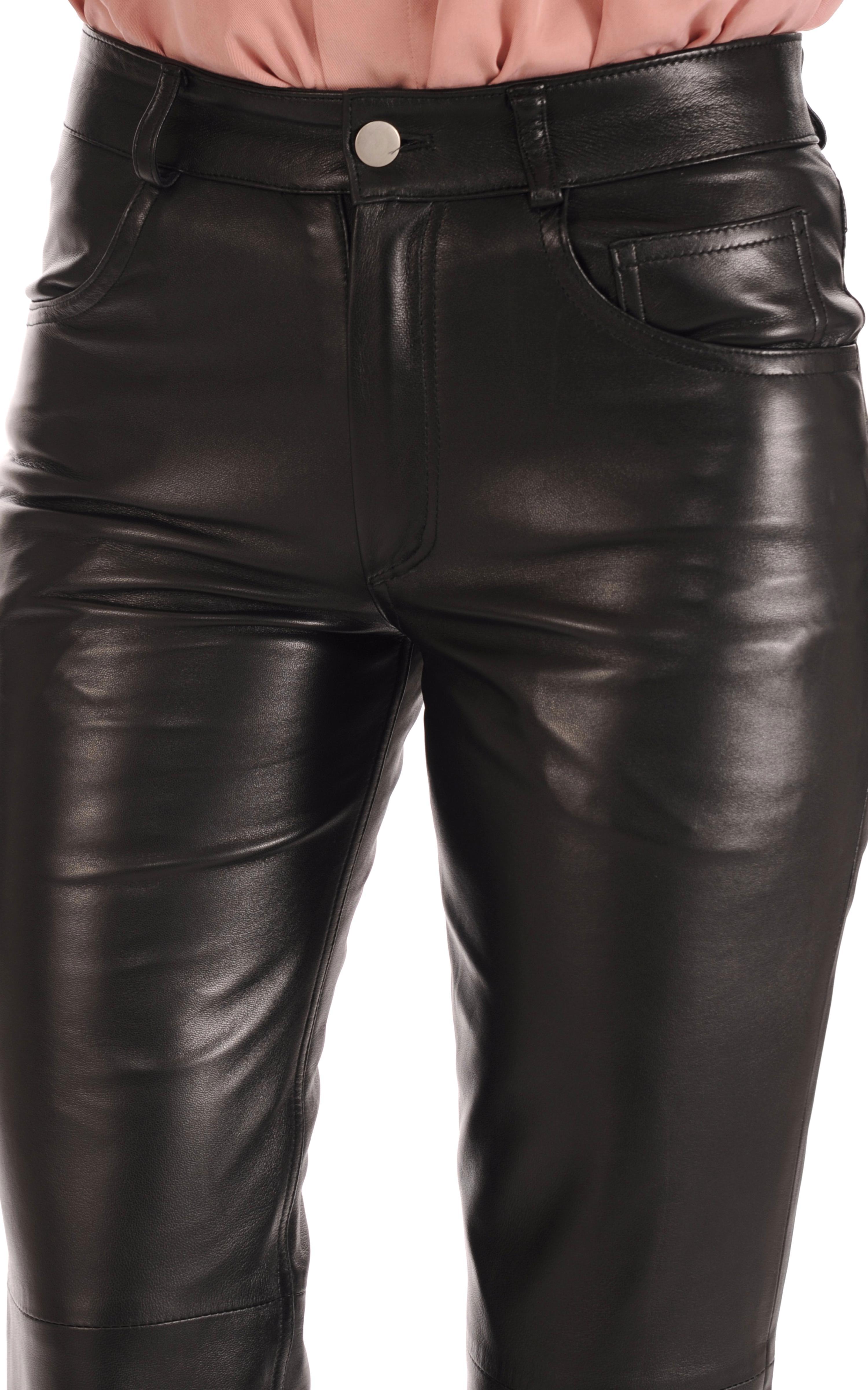 en soldes db93a e5ff5 pantalon cuir 501