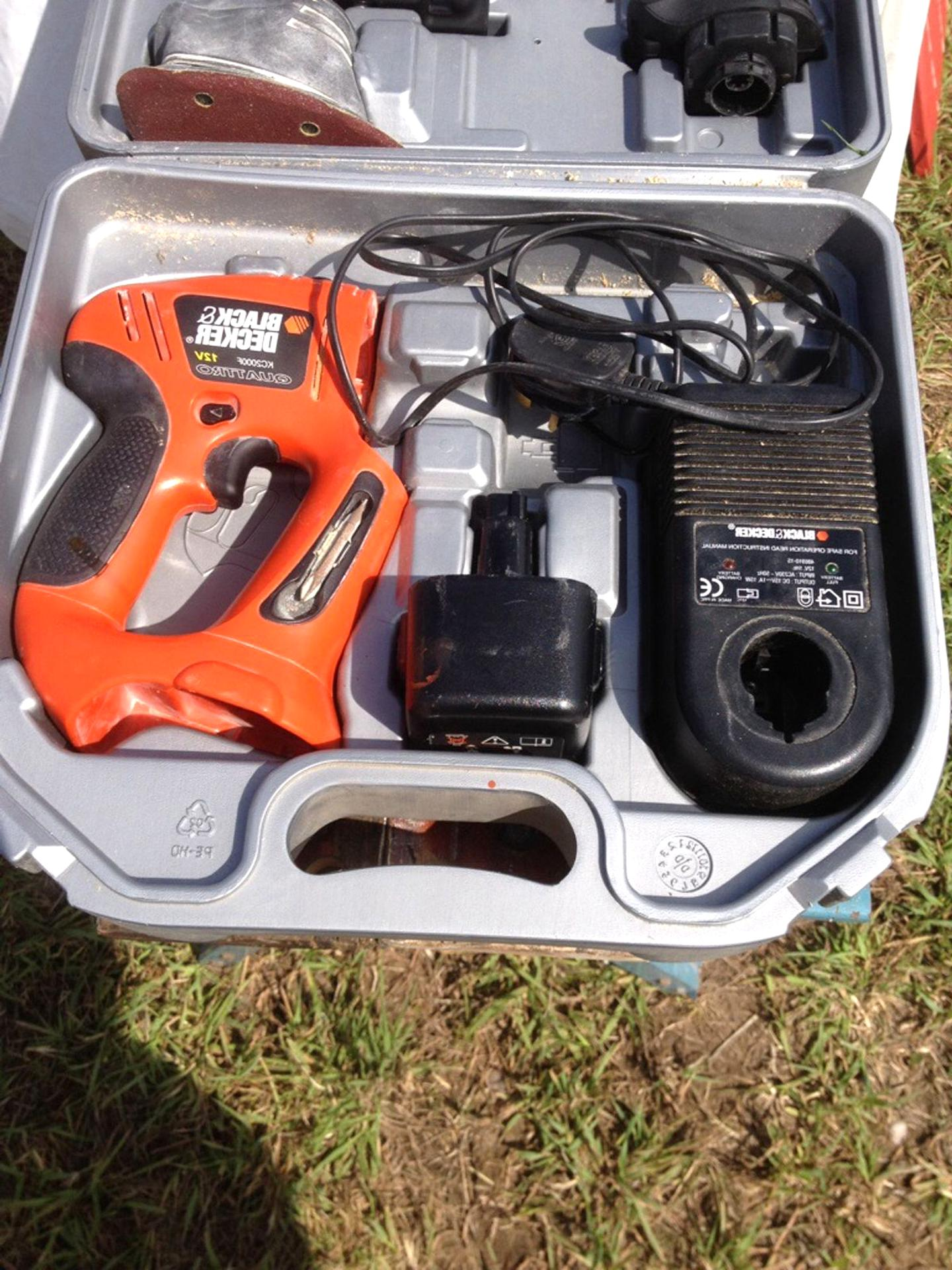 quattro black decker d'occasion