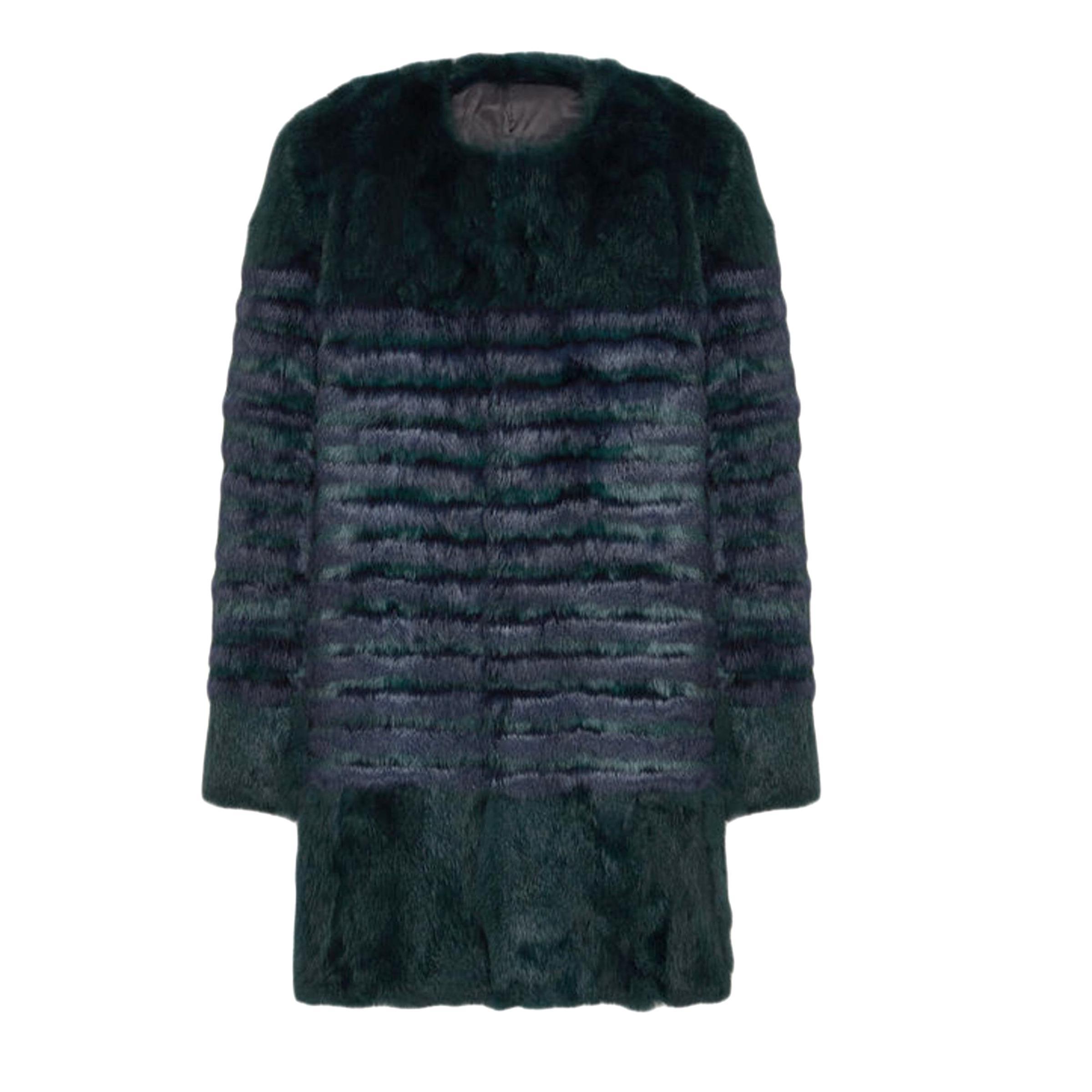plus de photos 1809b 0b144 manteau fourrure maje