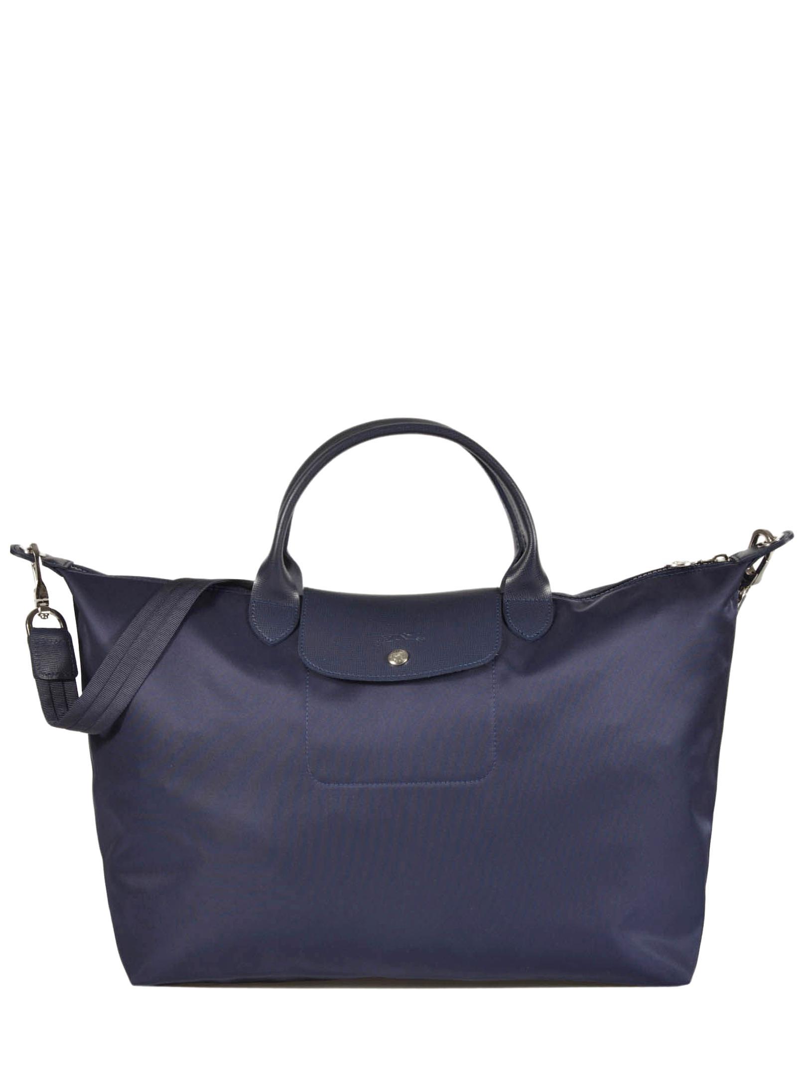 sacs longchamps pliage bleu
