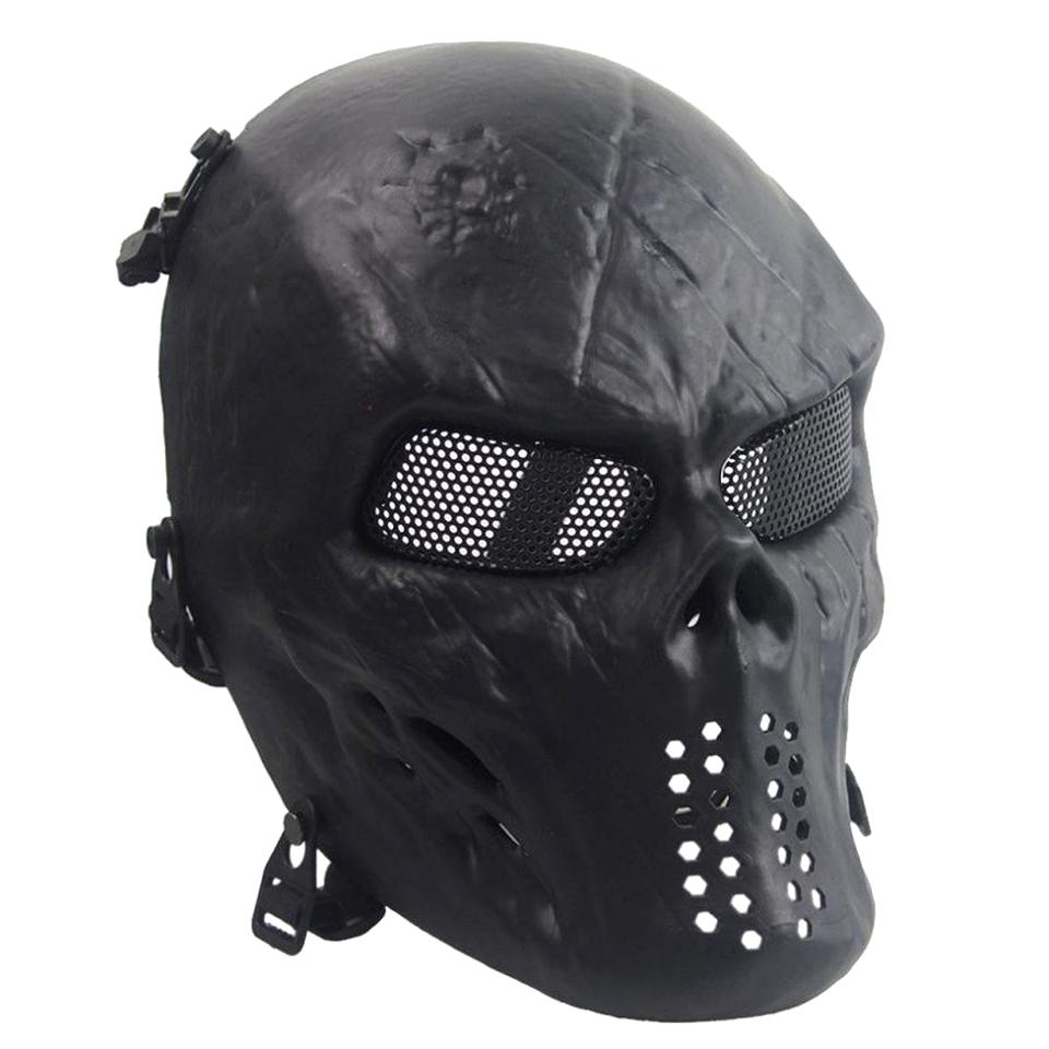 protection casque tete mort airsoft d'occasion