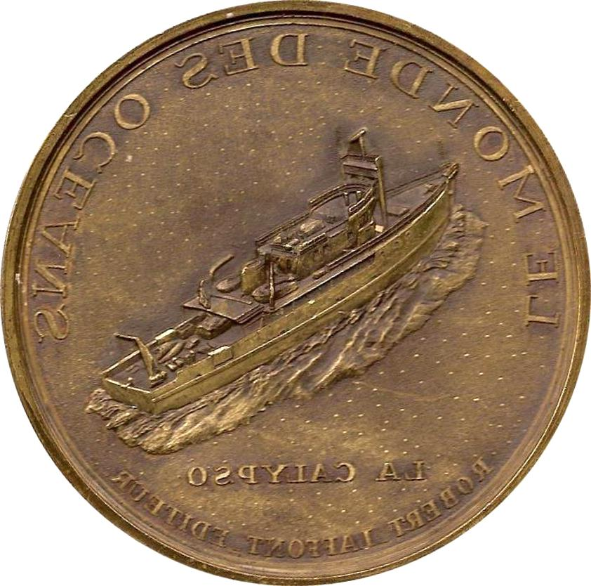 medaille cousteau d'occasion
