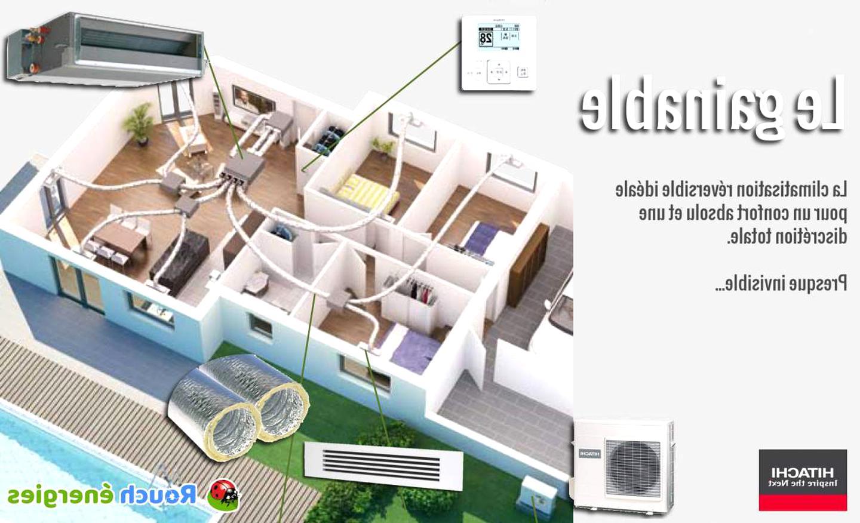 Devis Climatisation à Laon ▷ Prix & Coût : Réversible, Maison, Gainable