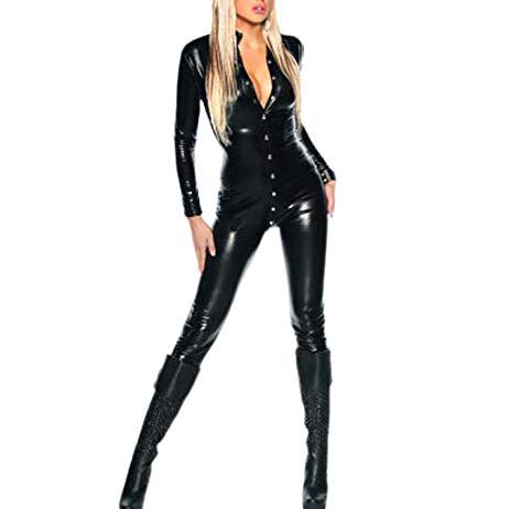 combinaison sexy cuir femme d'occasion
