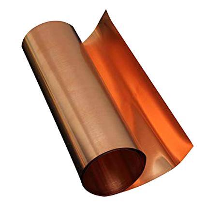 SOFIALXC Plaque en t/ôle de cuivre Pur 0.6mmx300mmx500mm