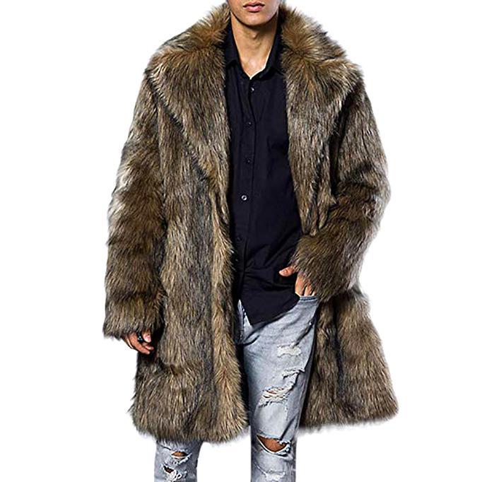 manteau fourrure homme d'occasion