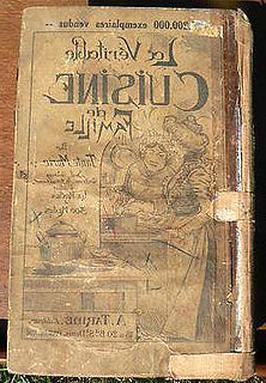 Livre Cuisine Ancien D Occasion
