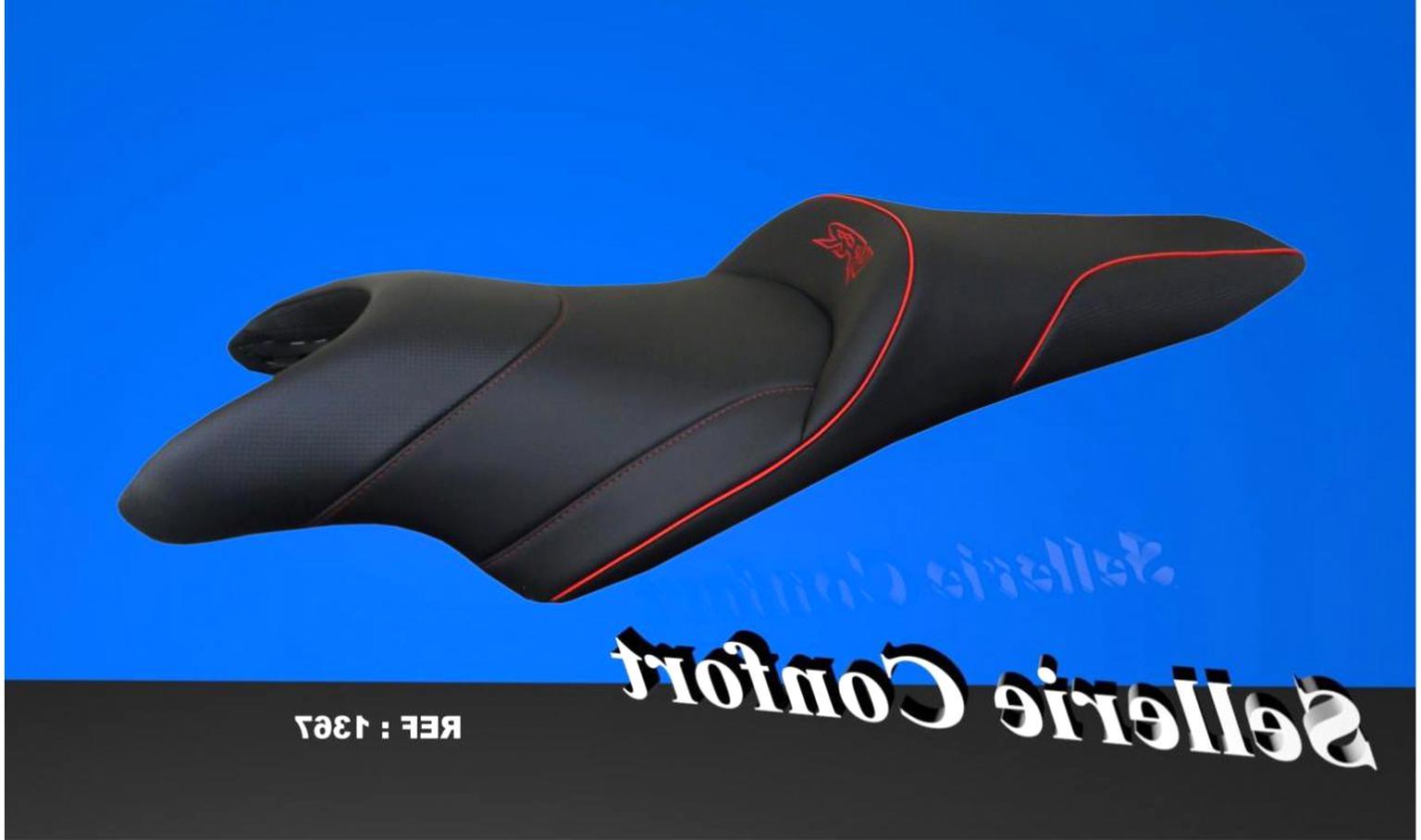 Gel Coussins De Siège S pour Suzuki Intruder C//M 800 Noir