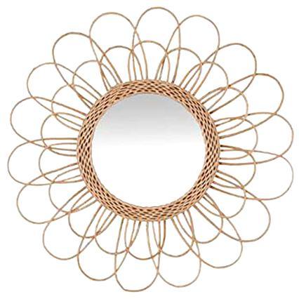 miroir rotin d'occasion