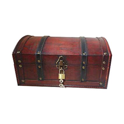 prix compétitif 9b87d 98595 coffre bois pirate