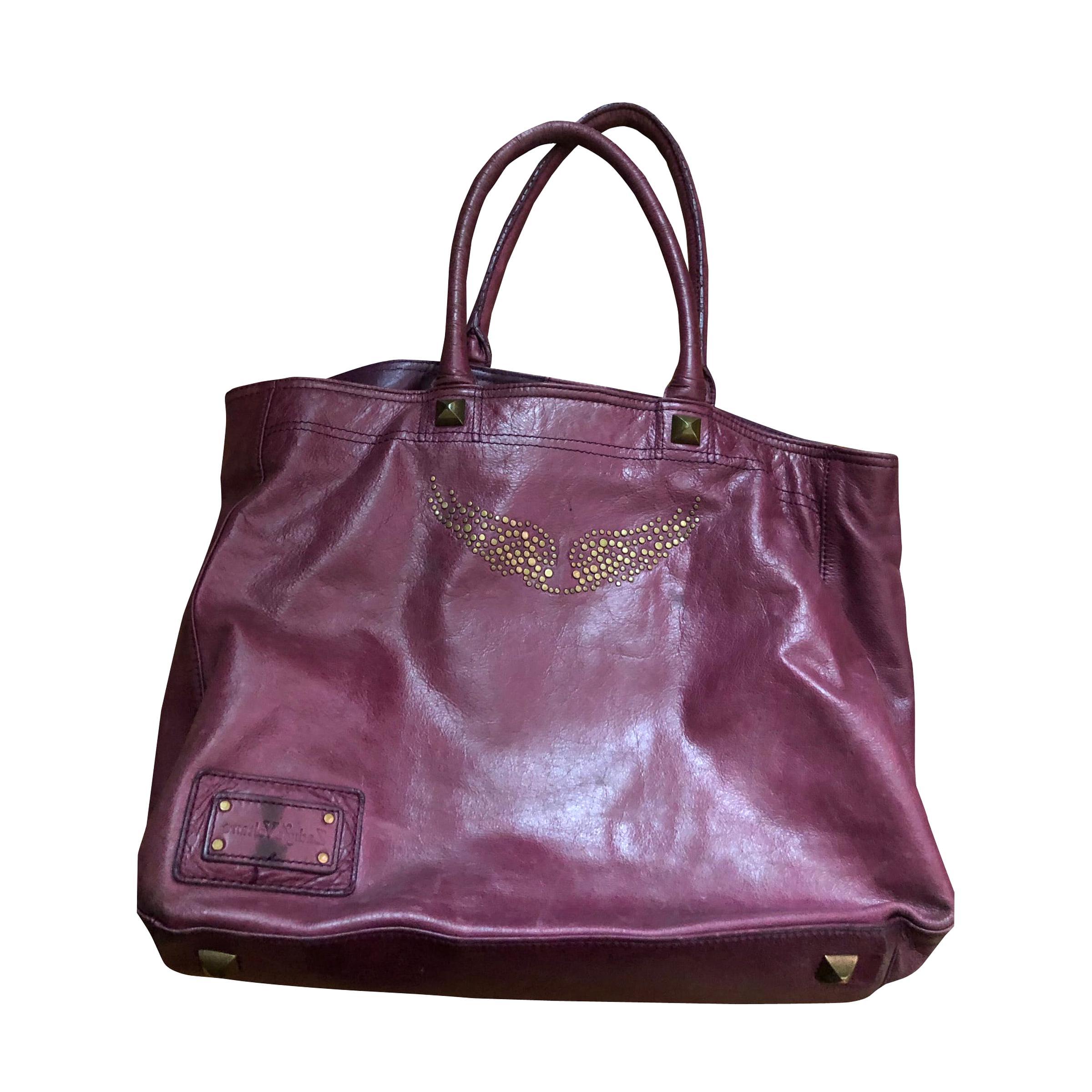 sac zadig voltaire violet d'occasion