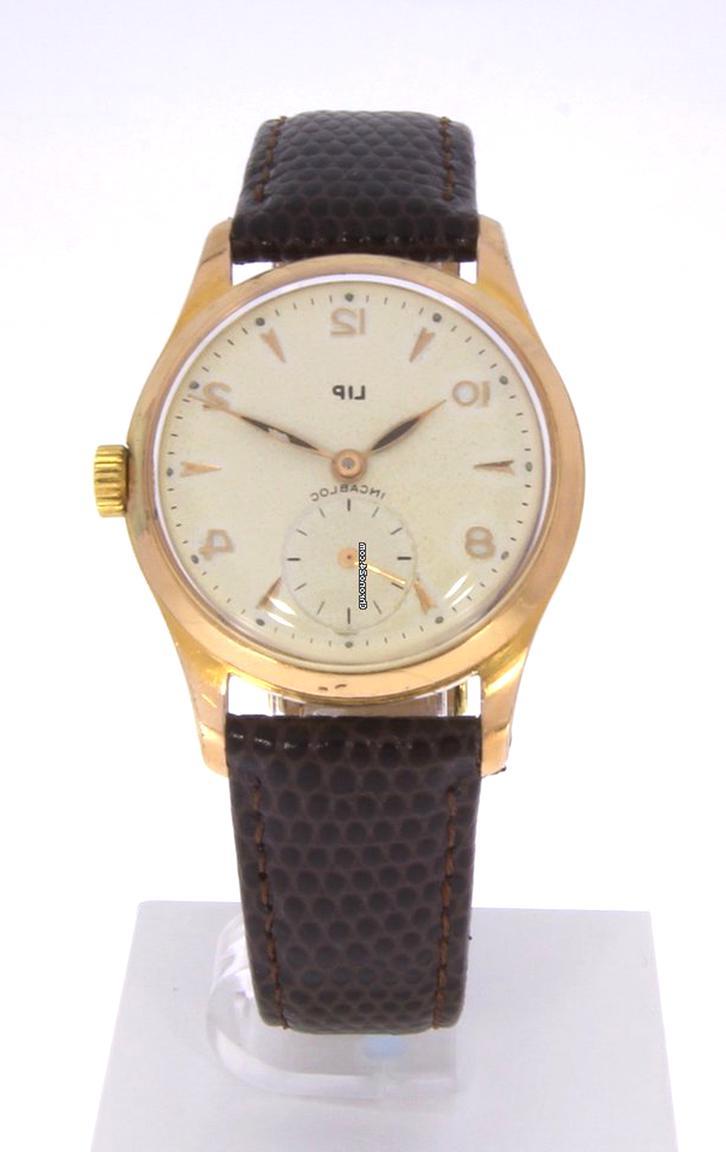 Ancienne montre bracelet LIP Incabloc pour homme mécanique