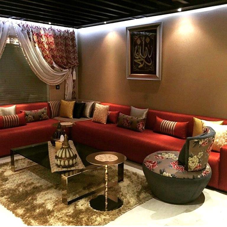 Salon Marocain Rouge d\'occasion