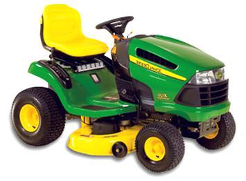 tracteur tondeuse john deere x140 d'occasion