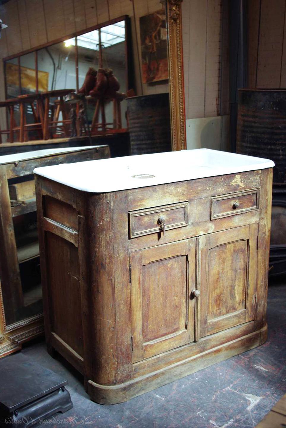 Meuble Sous Evier Ancien meuble evier ancien d'occasion