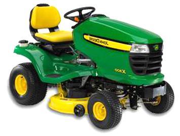 tracteur tondeuse john x300 d'occasion