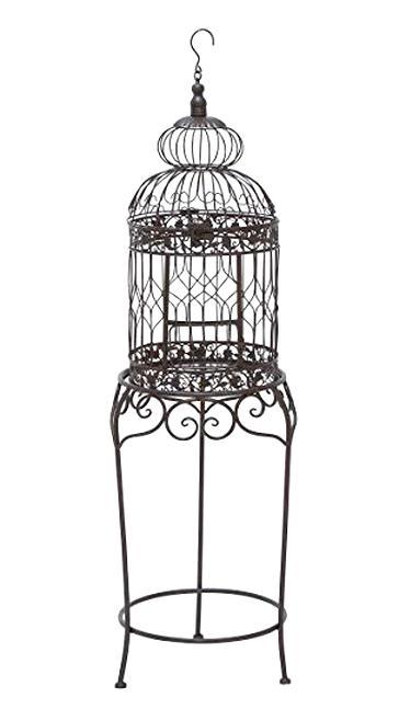 cage a oiseaux fer forge d'occasion