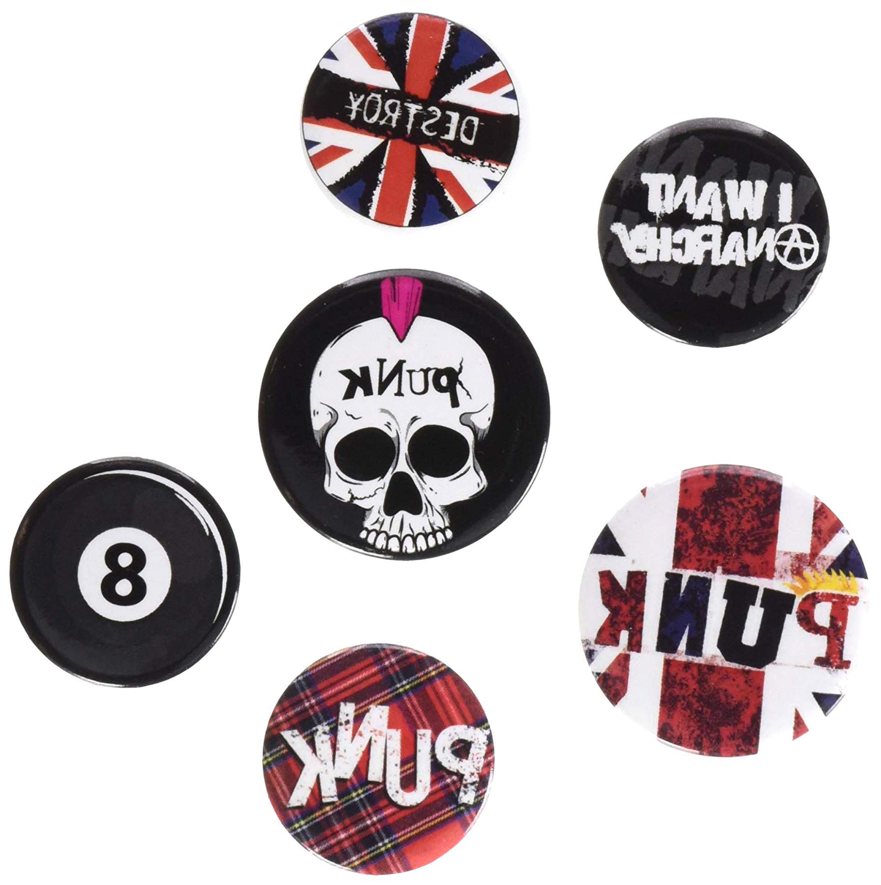 badges punk d'occasion