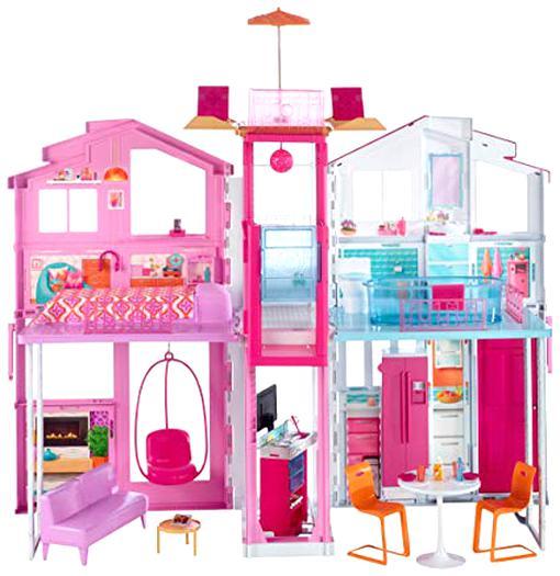 Maison Barbie 3 Pieces D Occasion