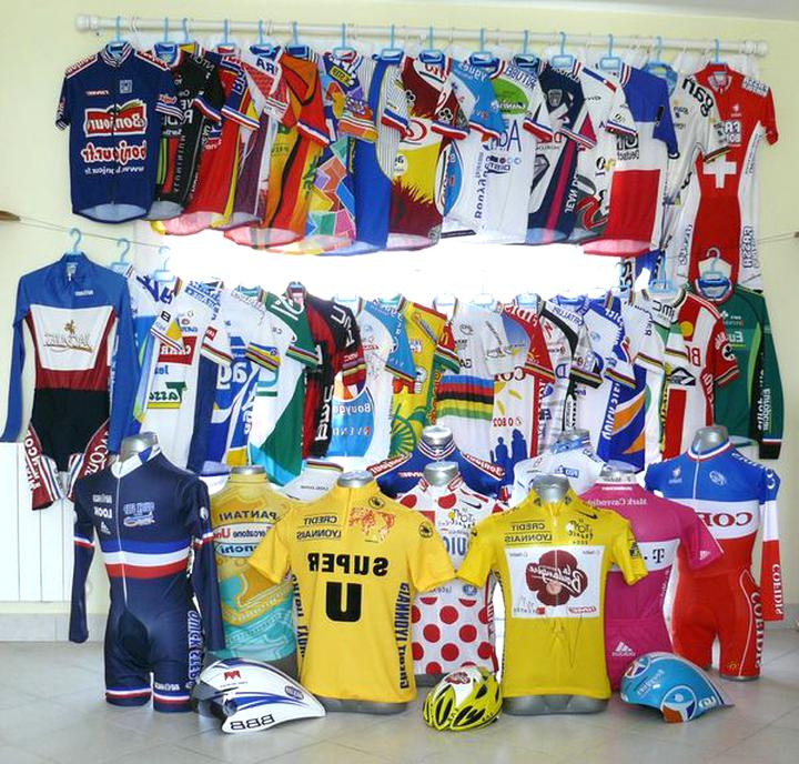 maillot cycliste collection d'occasion