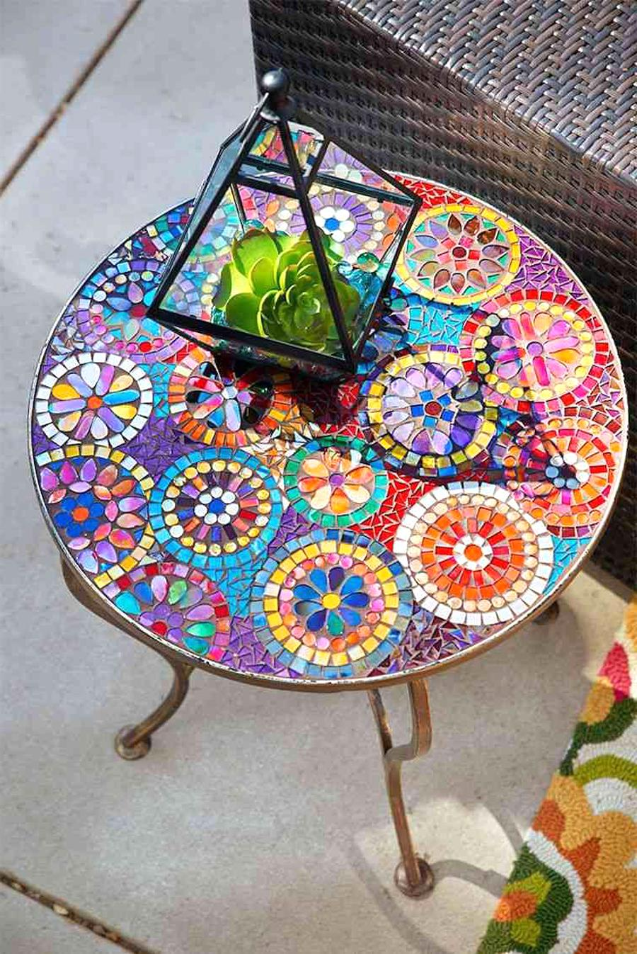 Beautiful Table Jardin Mosaique Lyon Gallery - House Design ...