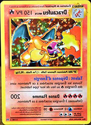 Carte Pokemon Dracaufeu Doccasion