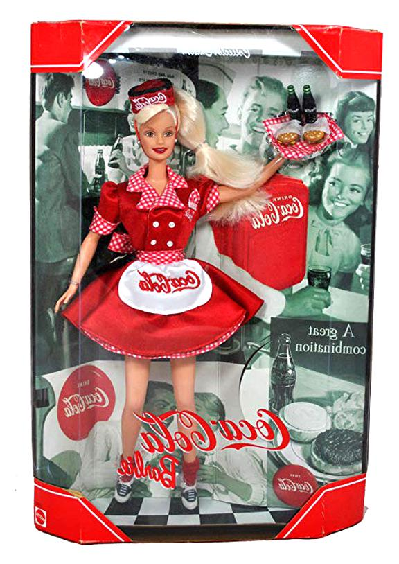 coca cola barbie d'occasion