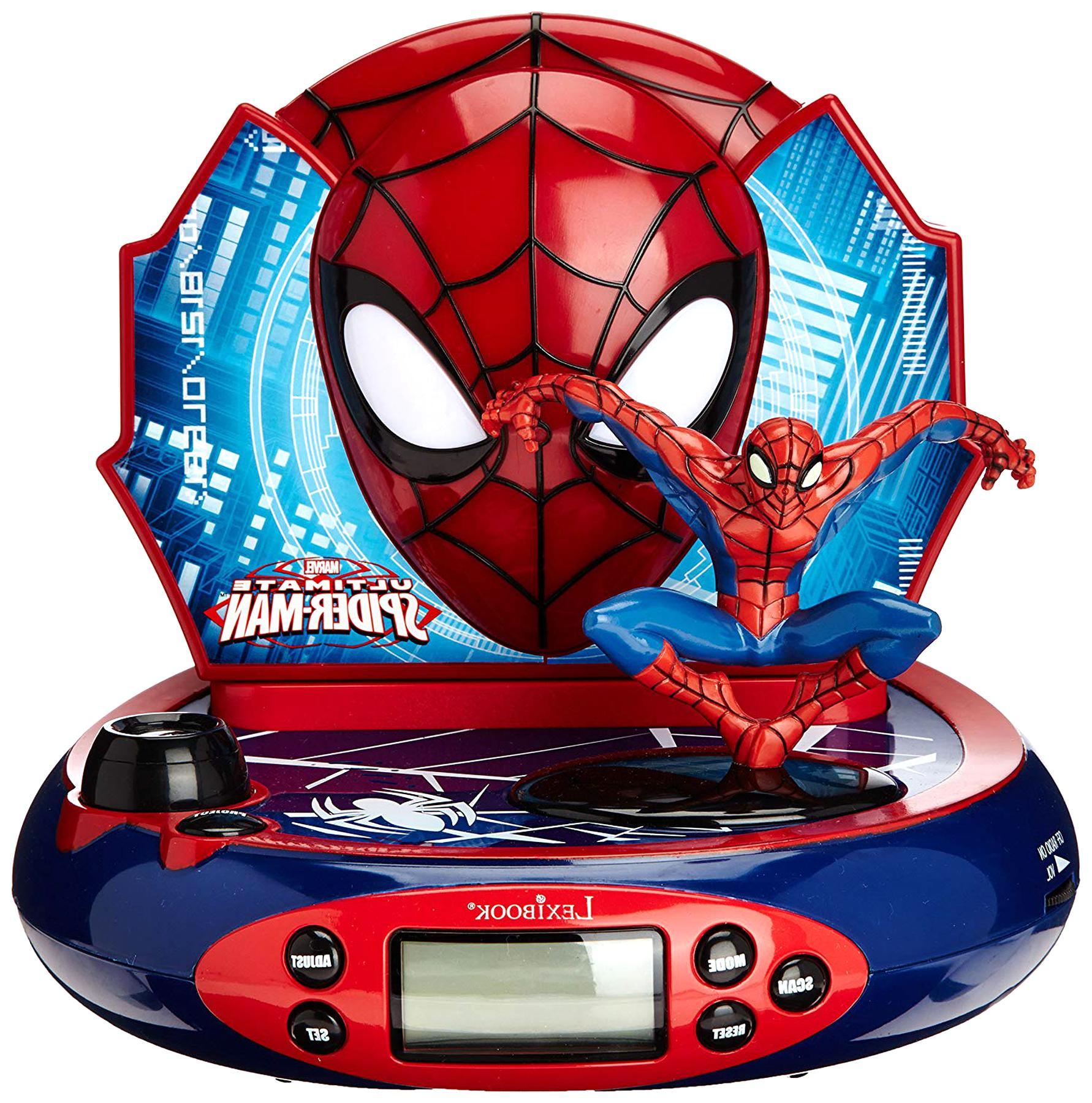 radio reveil spiderman d'occasion