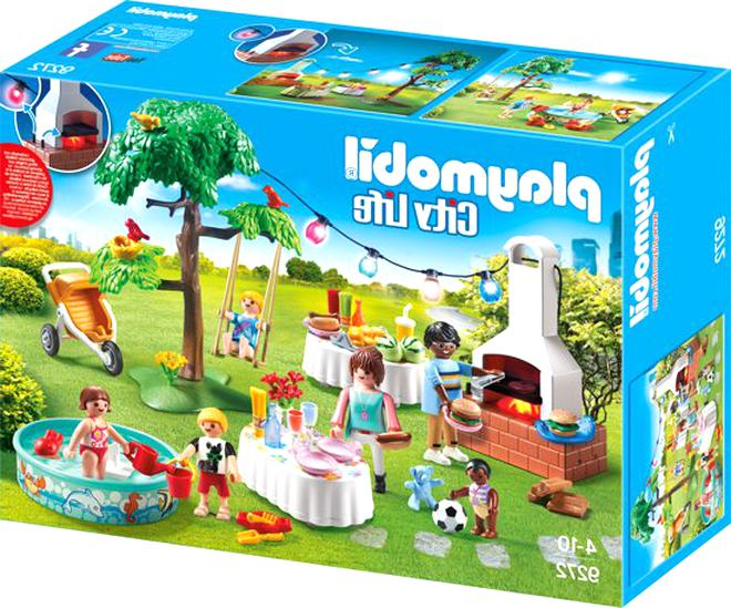 playmobil barbecue d'occasion