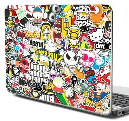 stickers ordinateur portable d'occasion