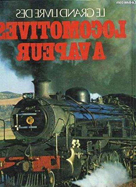 livre locomotive vapeur d'occasion