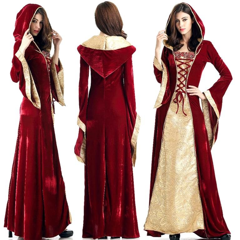 Robe Medievale Costume D Occasion