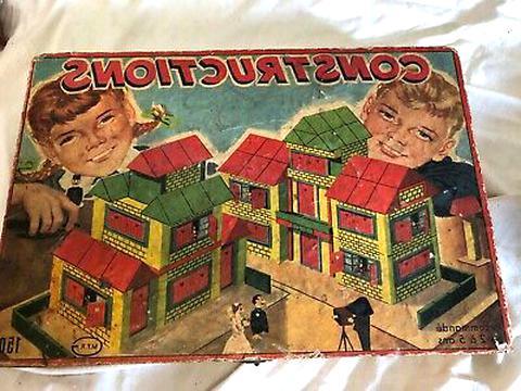 ancienne boite jeux construction d'occasion