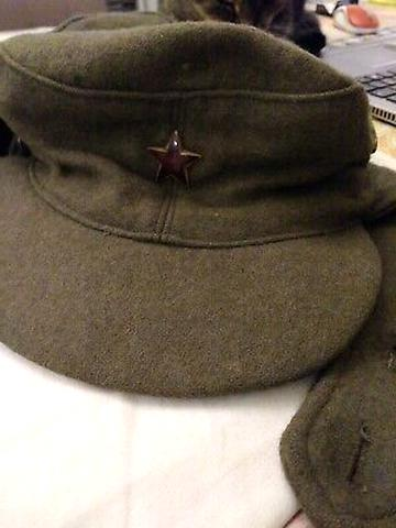 casquette militaire ancienne d'occasion