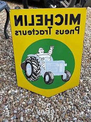plaque emaillee tracteur d'occasion