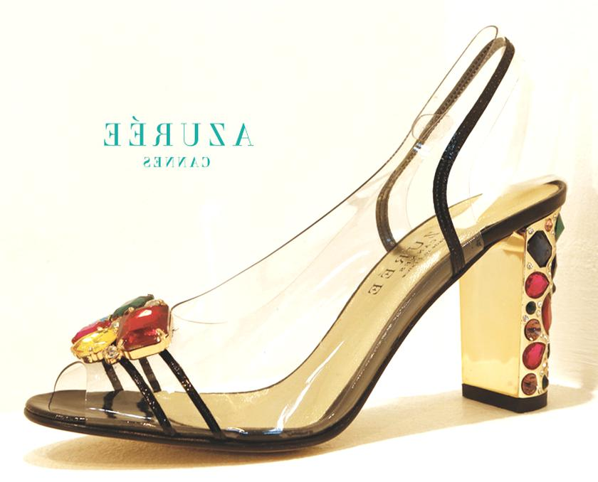 chaussure azuree d'occasion