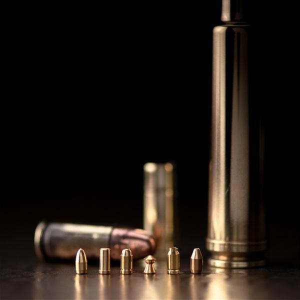 Datant de boîtes de munitions Vintage