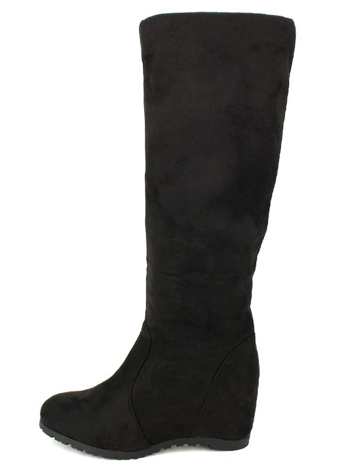 bottes cuir femme compensées occasion
