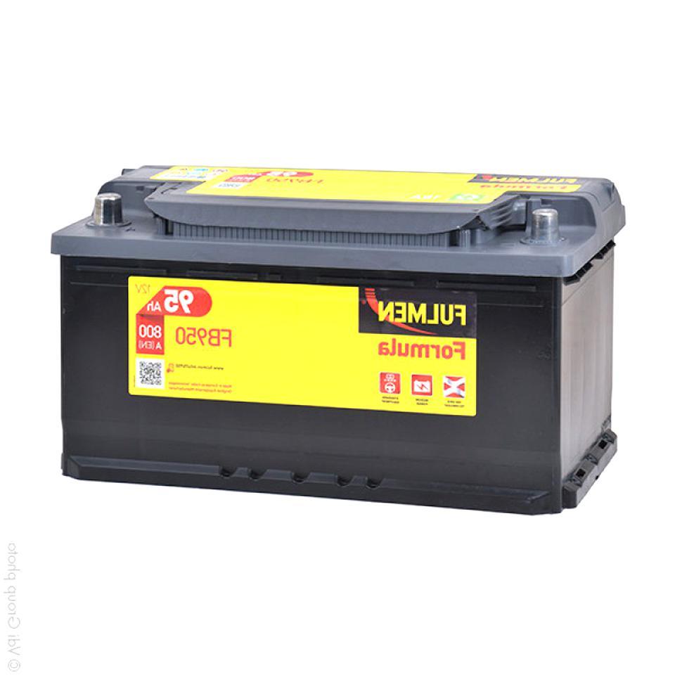 Batterie 95 Ah d'occasion | Plus que 2 à 70%