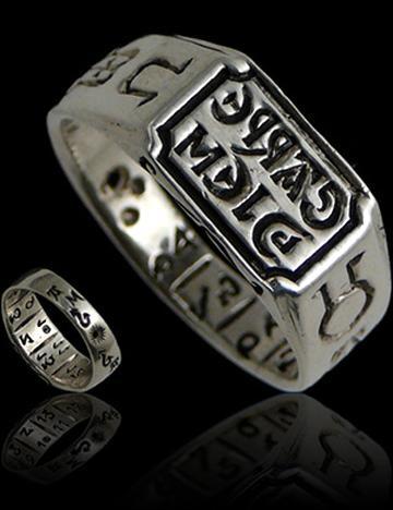Carpe Diem .925 Sterling Silver Ring par Peter Stone