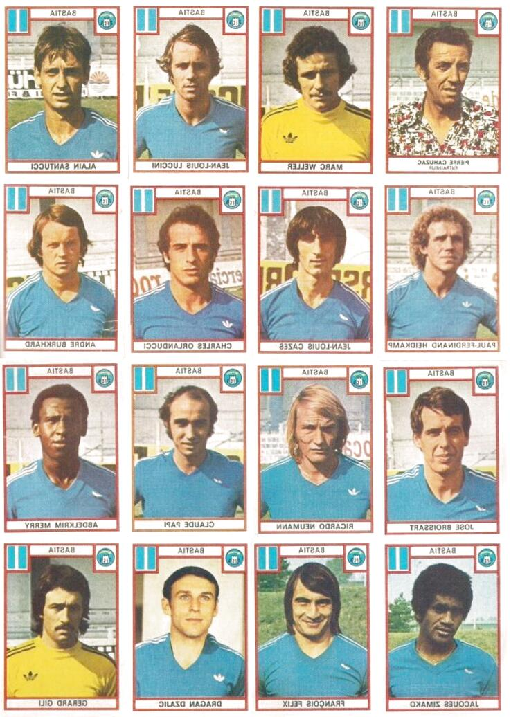 panini football 1976 france d'occasion