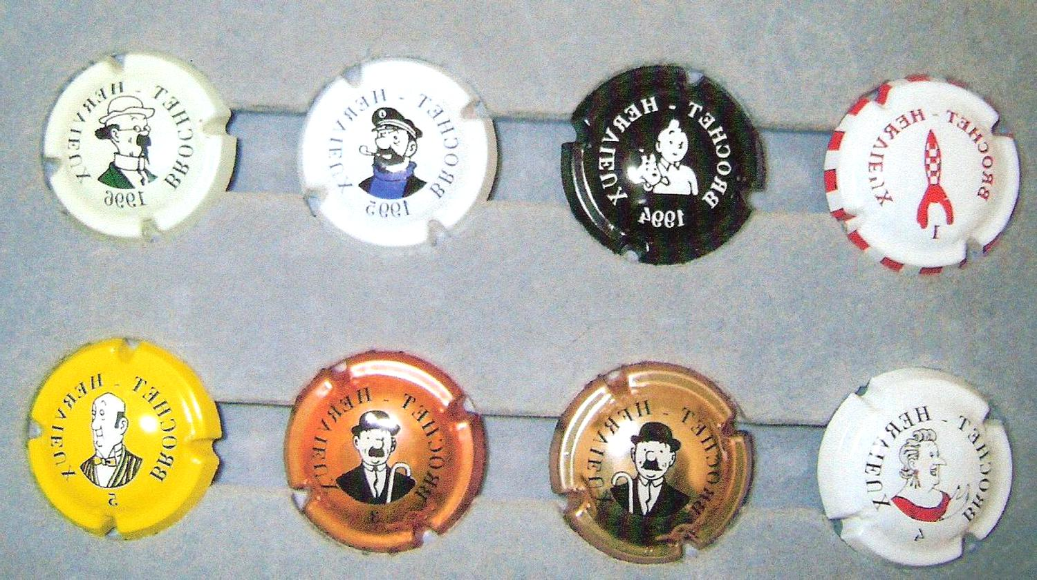capsule champagne tintin d'occasion