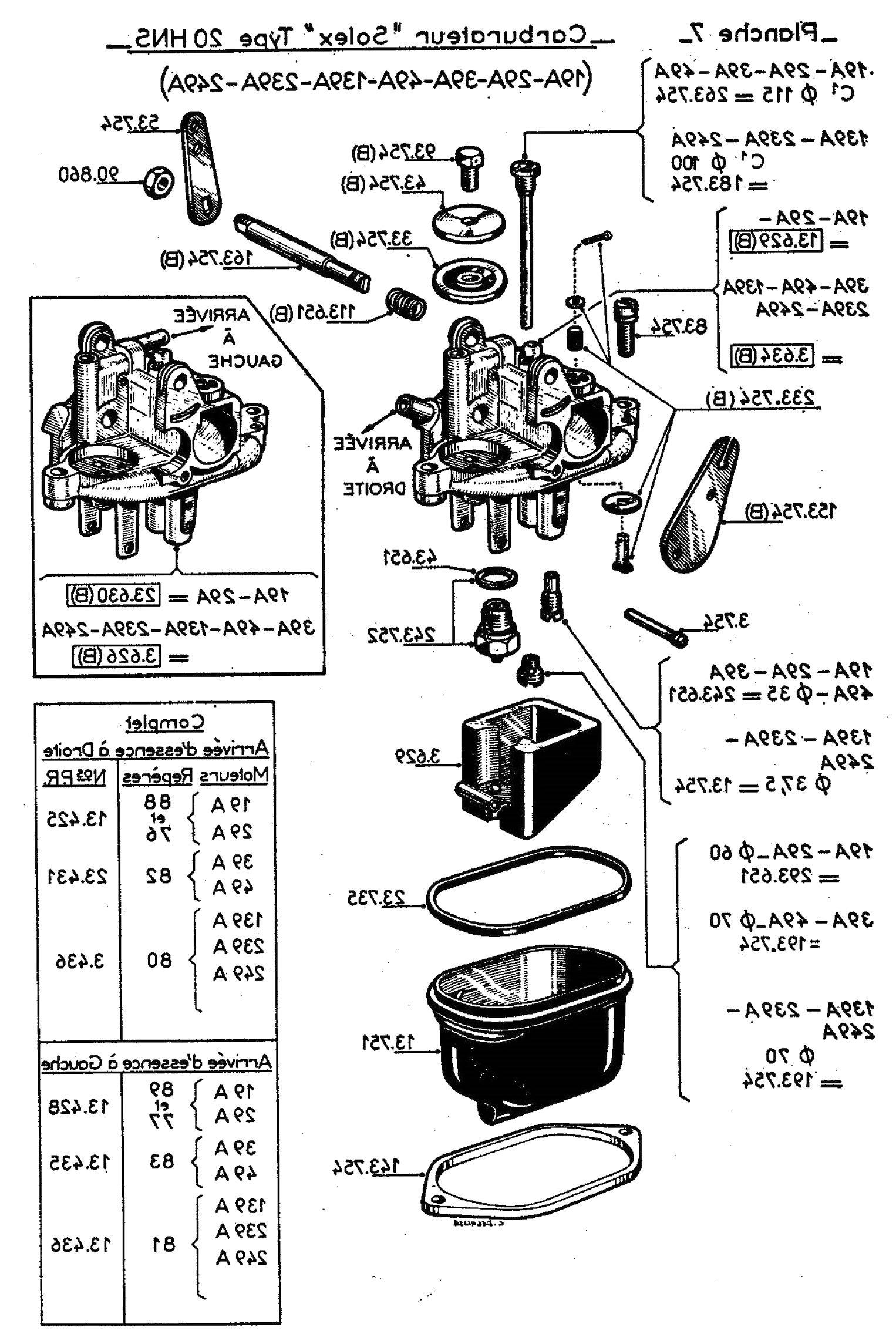 carburateur moteur bernard d'occasion