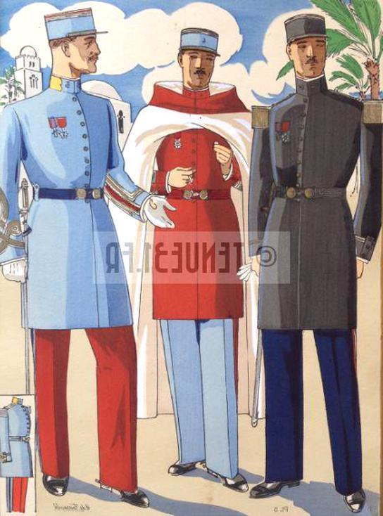 spahis uniforme d'occasion