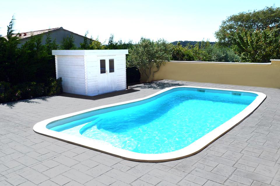 piscine coque d'occasion