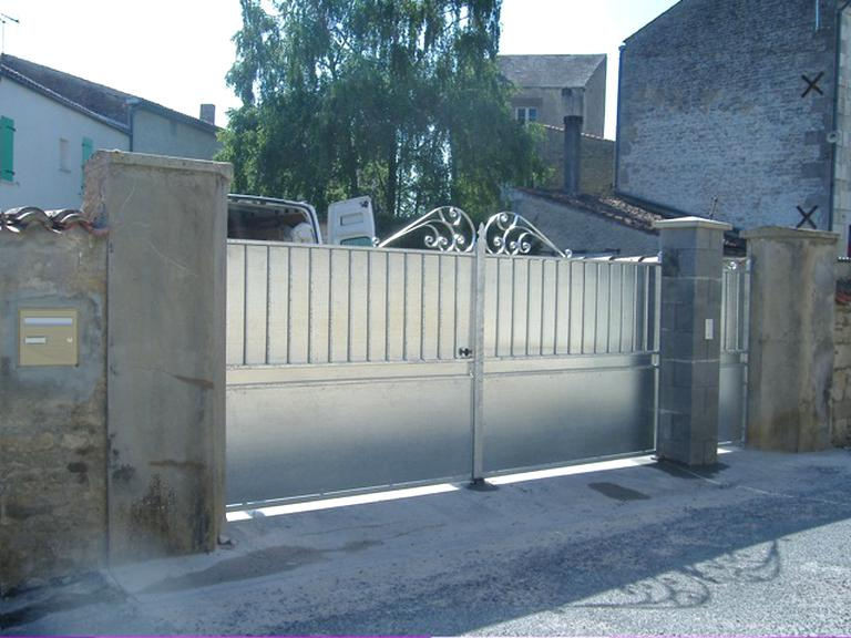 portail galvanise d'occasion